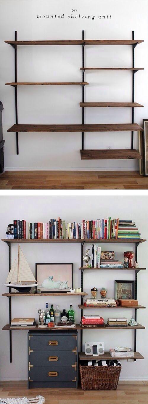 Diy Farmhouse Shelves 38 - Spectacular DIY Farmhouse Shelves