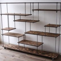 Diy Farmhouse Shelves 39 214x214 - Spectacular DIY Farmhouse Shelves