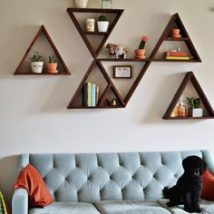 Diy Farmhouse Shelves 46 214x214 - Spectacular DIY Farmhouse Shelves