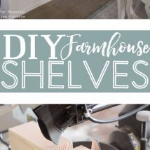 Diy Farmhouse Shelves 5 214x214 - Spectacular DIY Farmhouse Shelves