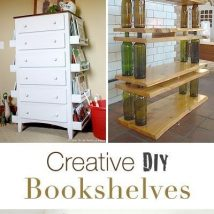 Diy Farmhouse Shelves 6 214x214 - Spectacular DIY Farmhouse Shelves
