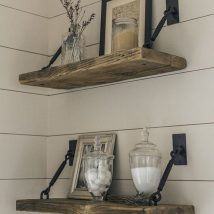 Diy Farmhouse Shelves 7 214x214 - Spectacular DIY Farmhouse Shelves