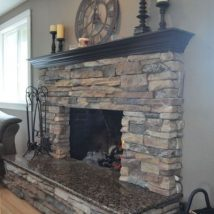 Diy Fireplace Designs 1 214x214 - 40+ Wonderful DIY Fireplace Designs