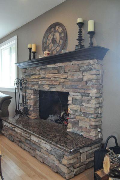 Diy Fireplace Designs 1 - 40+ Wonderful DIY Fireplace Designs
