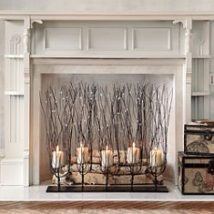 Diy Fireplace Designs 22 214x214 - 40+ Wonderful DIY Fireplace Designs