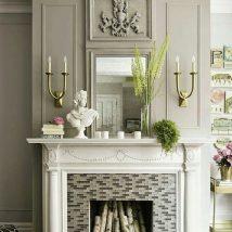 Diy Fireplace Designs 23 214x214 - 40+ Wonderful DIY Fireplace Designs