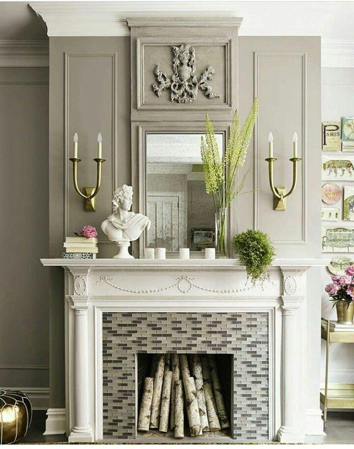 Diy Fireplace Designs 23 - 40+ Wonderful DIY Fireplace Designs
