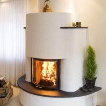 Diy Fireplace Designs 28 214x214 - 40+ Wonderful DIY Fireplace Designs