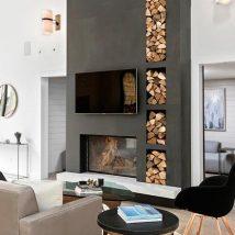 Diy Fireplace Designs 32 214x214 - 40+ Wonderful DIY Fireplace Designs
