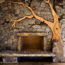 Diy Fireplace Designs 4 214x214 - 40+ Wonderful DIY Fireplace Designs