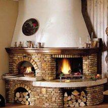 Diy Fireplace Designs 40 214x214 - 40+ Wonderful DIY Fireplace Designs
