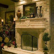 Diy Fireplace Designs 42 214x214 - 40+ Wonderful DIY Fireplace Designs