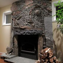 40+ Wonderful DIY Fireplace Designs