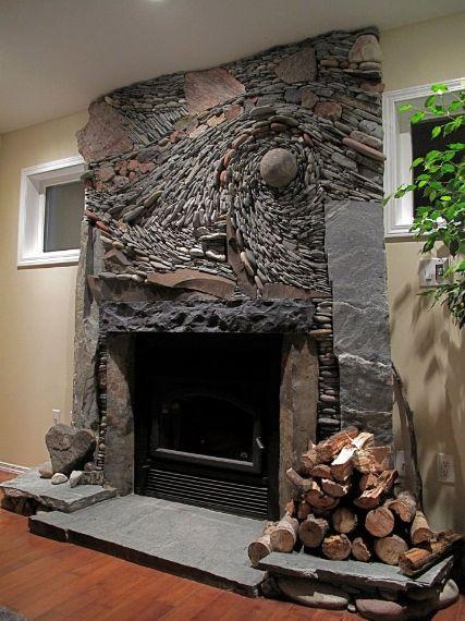 Diy Fireplace Designs 5 - 40+ Wonderful DIY Fireplace Designs