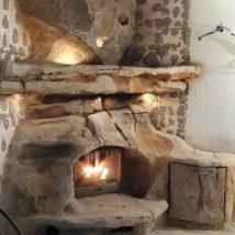 Diy Fireplace Designs 53 214x214 - 40+ Wonderful DIY Fireplace Designs