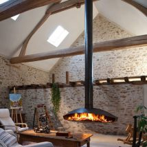 Diy Fireplace Designs 55 214x214 - 40+ Wonderful DIY Fireplace Designs