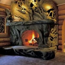 Diy Fireplace Designs 6 214x214 - 40+ Wonderful DIY Fireplace Designs