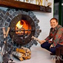 Diy Fireplace Designs 9 214x214 - 40+ Wonderful DIY Fireplace Designs