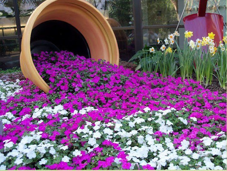 Diy Flower Gardens 10 - Unexpected DIY Flower Gardening Ideas And Planter Projects