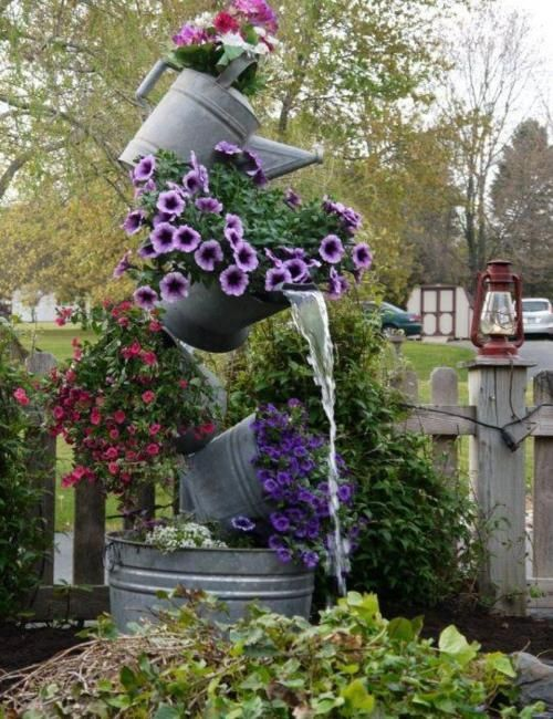 Unexpected Diy Flower Gardening Ideas And Planter Projects Diy
