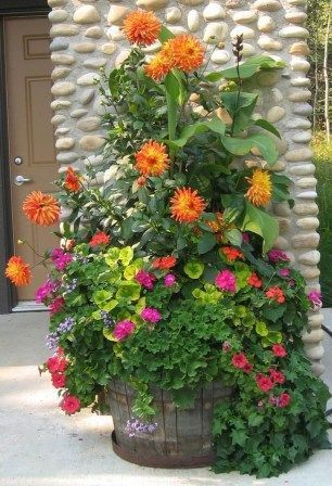 Diy Flower Gardens 5 - Unexpected DIY Flower Gardening Ideas And Planter Projects