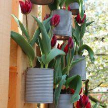 Diy Flower Vases 30 214x214 - 40+ DIY Flower Vases As Pretty As The Flowers Themselves