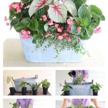 Diy Flower Vases 32 214x214 - 40+ DIY Flower Vases As Pretty As The Flowers Themselves