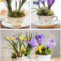 Diy Flower Vases 34 214x214 - 40+ DIY Flower Vases As Pretty As The Flowers Themselves