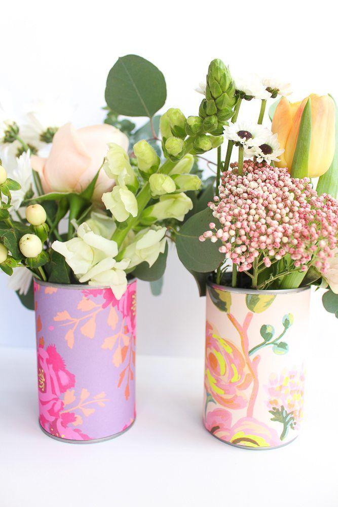 Diy Flower Vases 53 - 40+ DIY Flower Vases As Pretty As The Flowers Themselves