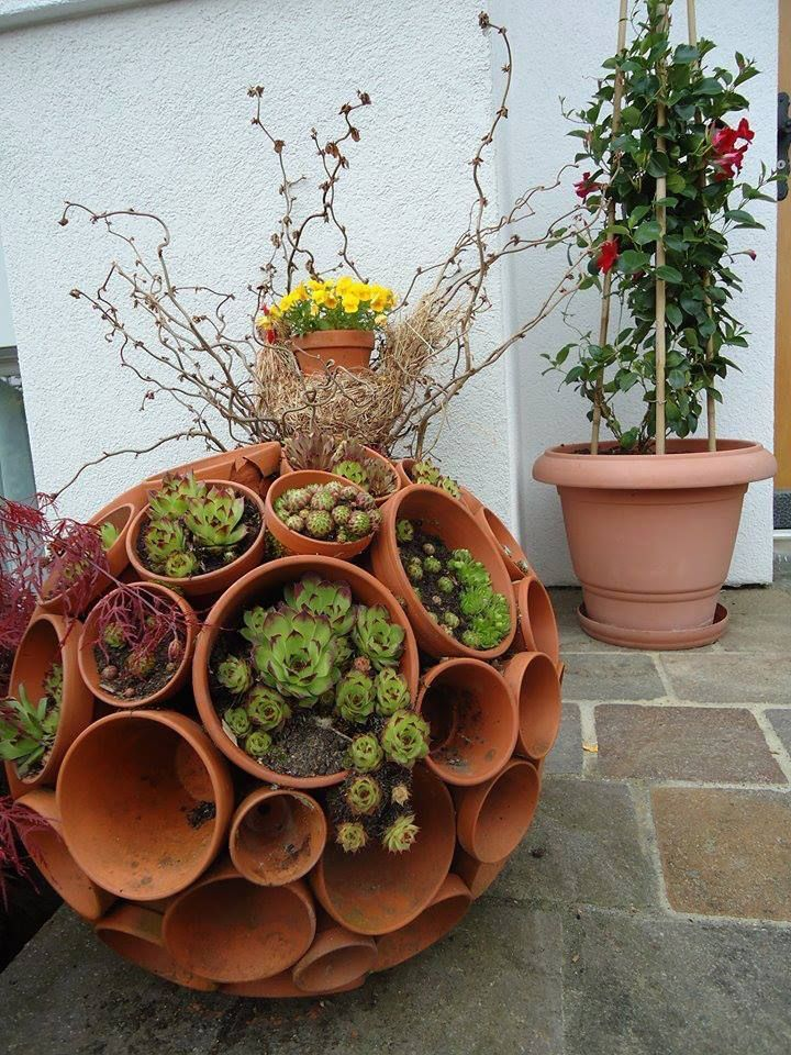 Diy Garden Globes 1 - 44+ Super Interesting DIY Garden Globes Ideas