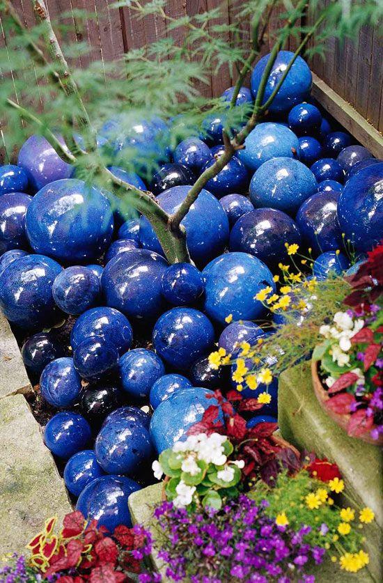 Diy Garden Globes 11 - 44+ Super Interesting DIY Garden Globes Ideas