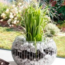 Diy Garden Globes 15 214x214 - 44+ Super Interesting DIY Garden Globes Ideas