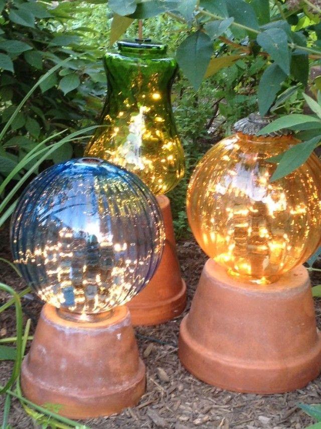 Diy Garden Globes 21 - 44+ Super Interesting DIY Garden Globes Ideas