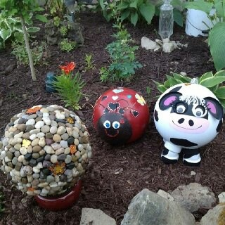 Diy Garden Globes 24 - 44+ Super Interesting DIY Garden Globes Ideas