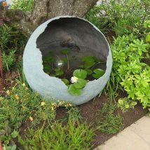 Diy Garden Globes 26 214x214 - 44+ Super Interesting DIY Garden Globes Ideas