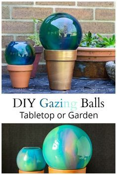 Diy Garden Globes 3 - 44+ Super Interesting DIY Garden Globes Ideas