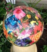 Diy Garden Globes 4 194x214 - 44+ Super Interesting DIY Garden Globes Ideas