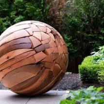 Diy Garden Globes 43 214x214 - 44+ Super Interesting DIY Garden Globes Ideas