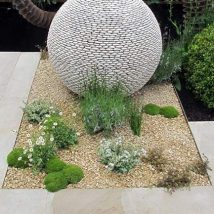 Diy Garden Globes 47 214x214 - 44+ Super Interesting DIY Garden Globes Ideas