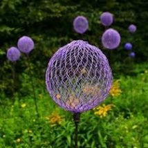 Diy Garden Globes 52 214x214 - 44+ Super Interesting DIY Garden Globes Ideas