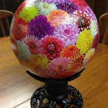 44+ Super Interesting DIY Garden Globes Ideas