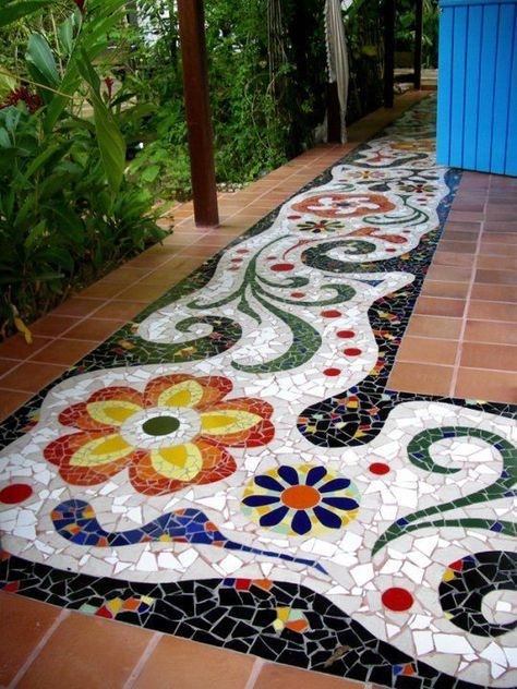 Diy Garden Mosaics Projects 1 - 40+ Unforeseen DIY Garden Mosaics Projects
