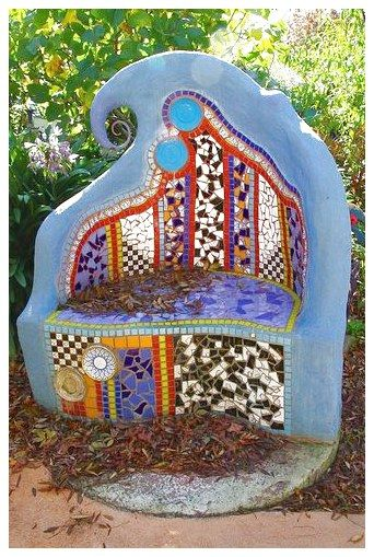 Diy Garden Mosaics Projects 14 - 40+ Unforeseen DIY Garden Mosaics Projects