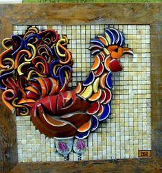 Diy Garden Mosaics Projects 16 - 40+ Unforeseen DIY Garden Mosaics Projects
