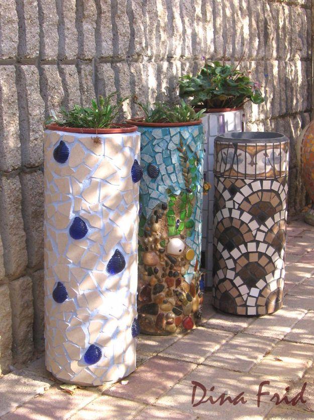 Diy Garden Mosaics Projects 18 - 40+ Unforeseen DIY Garden Mosaics Projects