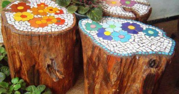Diy Garden Mosaics Projects 19 - 40+ Unforeseen DIY Garden Mosaics Projects