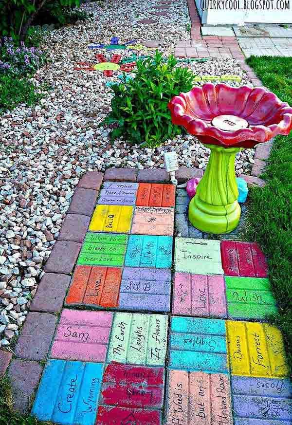Diy Garden Mosaics Projects 40 - 40+ Unforeseen DIY Garden Mosaics Projects