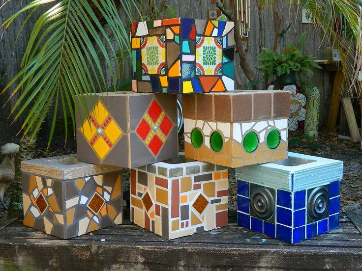 Diy Garden Mosaics Projects 45 - 40+ Unforeseen DIY Garden Mosaics Projects