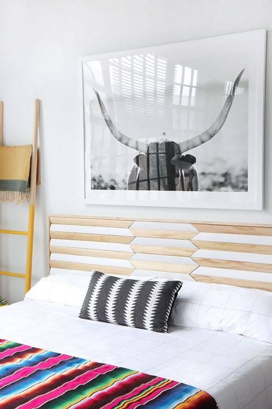 Diy Headboard Designs 13 - 40 DIY Headboard Designs For A Fabulous Looking Bed