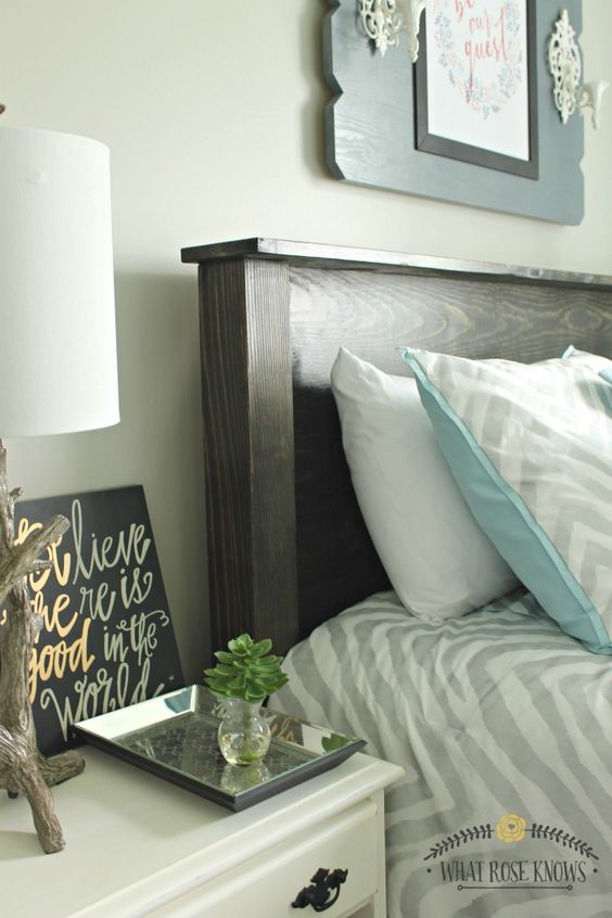 Diy Headboard Designs 2 - 40 DIY Headboard Designs For A Fabulous Looking Bed